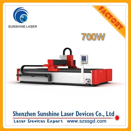 700W Fiber Laser Cutting Machine from Shenzhen BXJ-3015-700