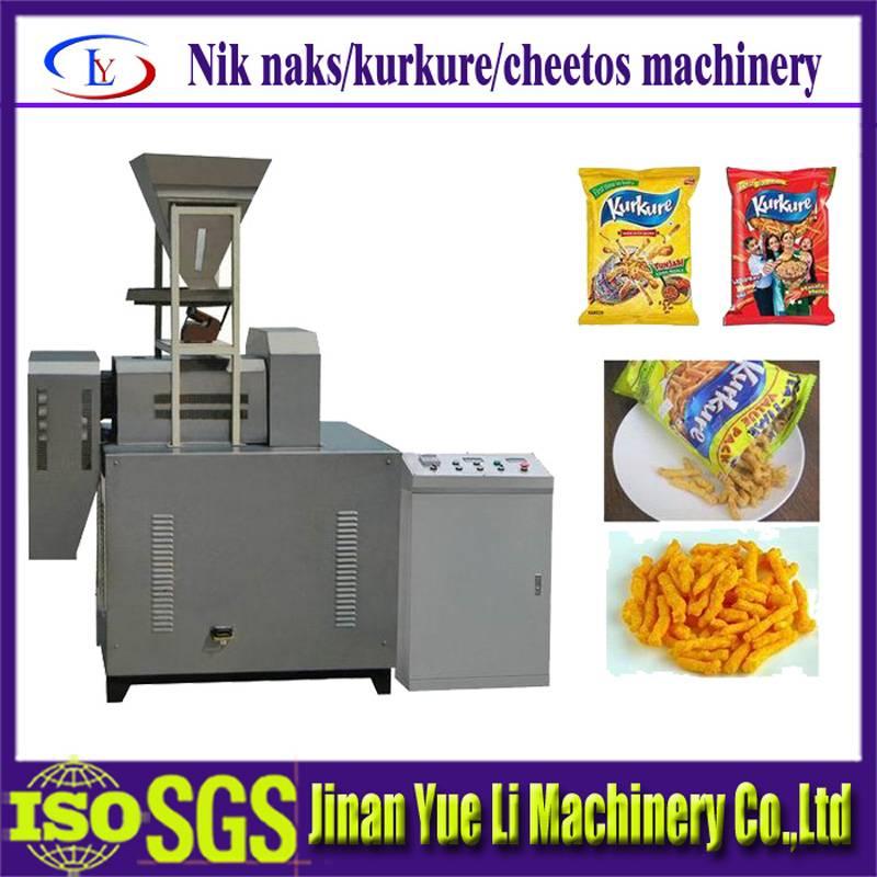 Low cost High quality Production Kurkure Snacks Machine