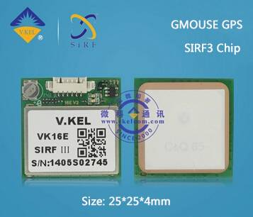 VK16E GMOUSE SIRF3 GPS Module with Ceramic Antenna 9600 Baundrate TTL Signal FACTORY PRICE Wholesale