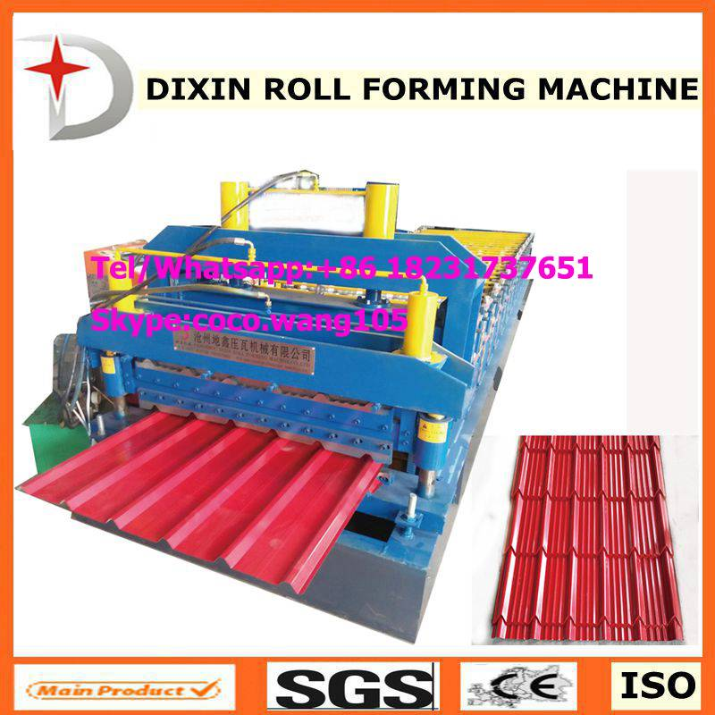 DX 1000/1000 Roof sheet double deck roll forming machine
