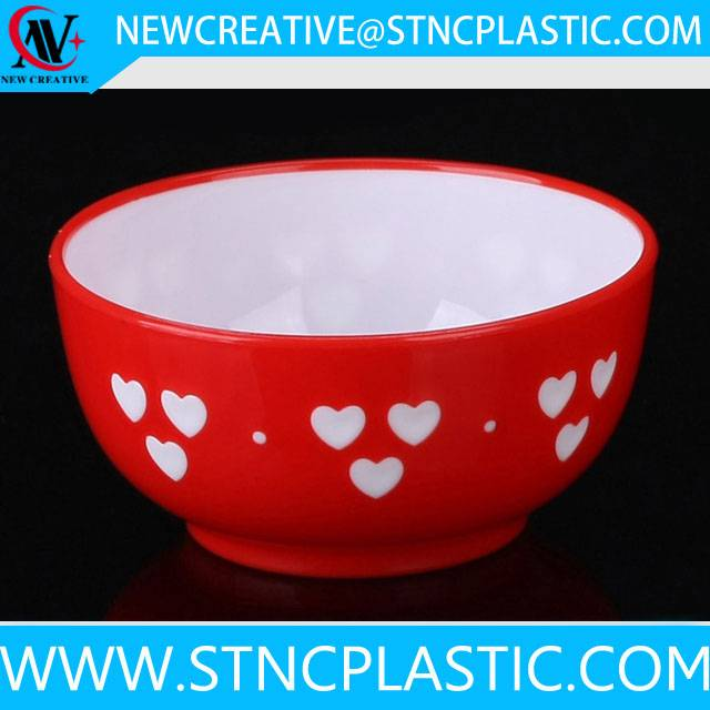 double wall plastic salad bowl wholesale price