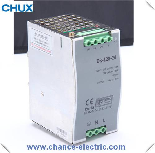 DIN RAIL type  power supply 120W