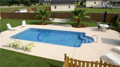 FRP overall swimming pool