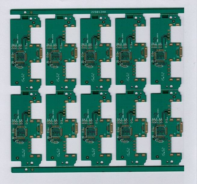 Tax System Box PCB, Double-side, FR-4, ENIG immersion gold