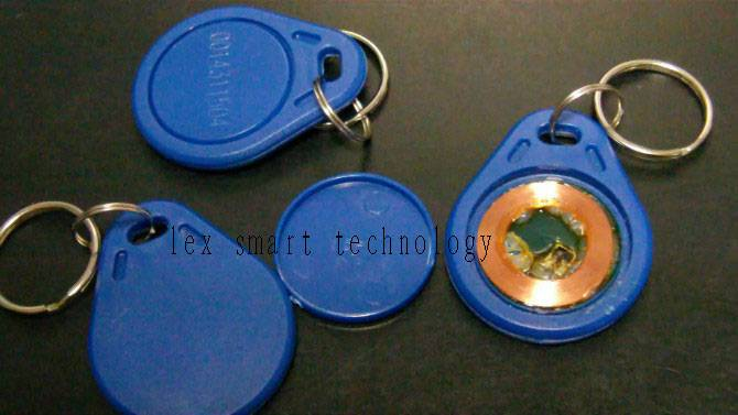 low frequency rifd key fob(T5577)