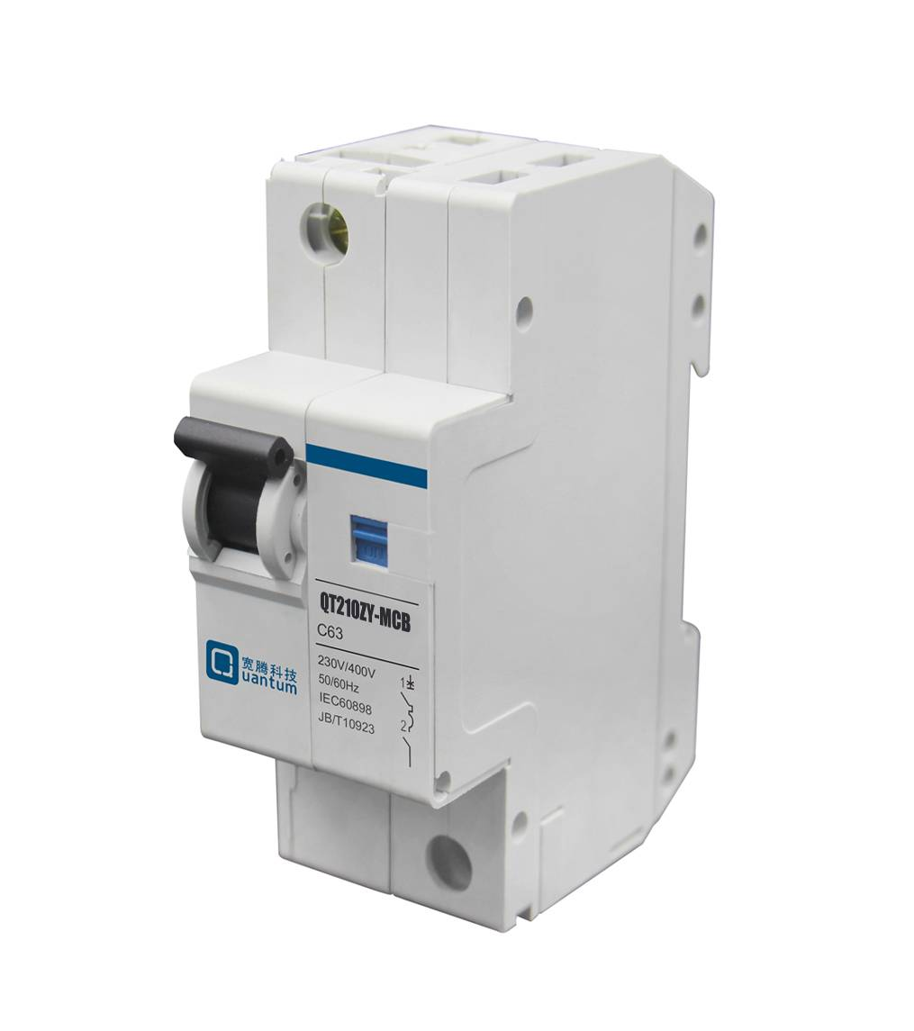 Din Rail Mini Circuit Breaker with Built in Single Phase Smart KWh Meter