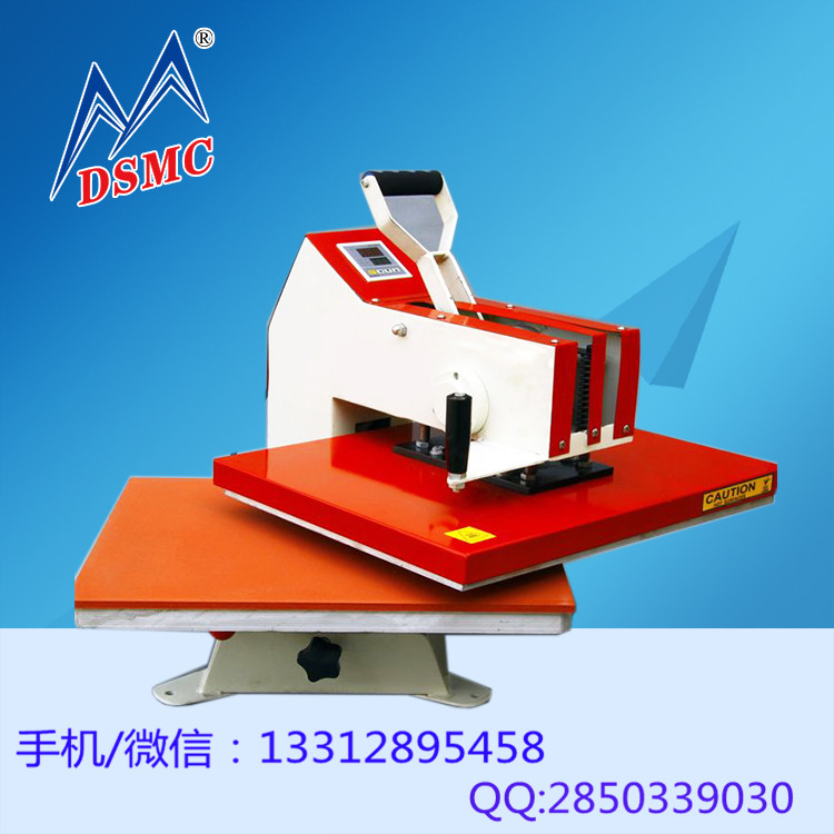 guangzhou wholesaler cheap prices for t-shirt garments manual movable heat transfer machine hot