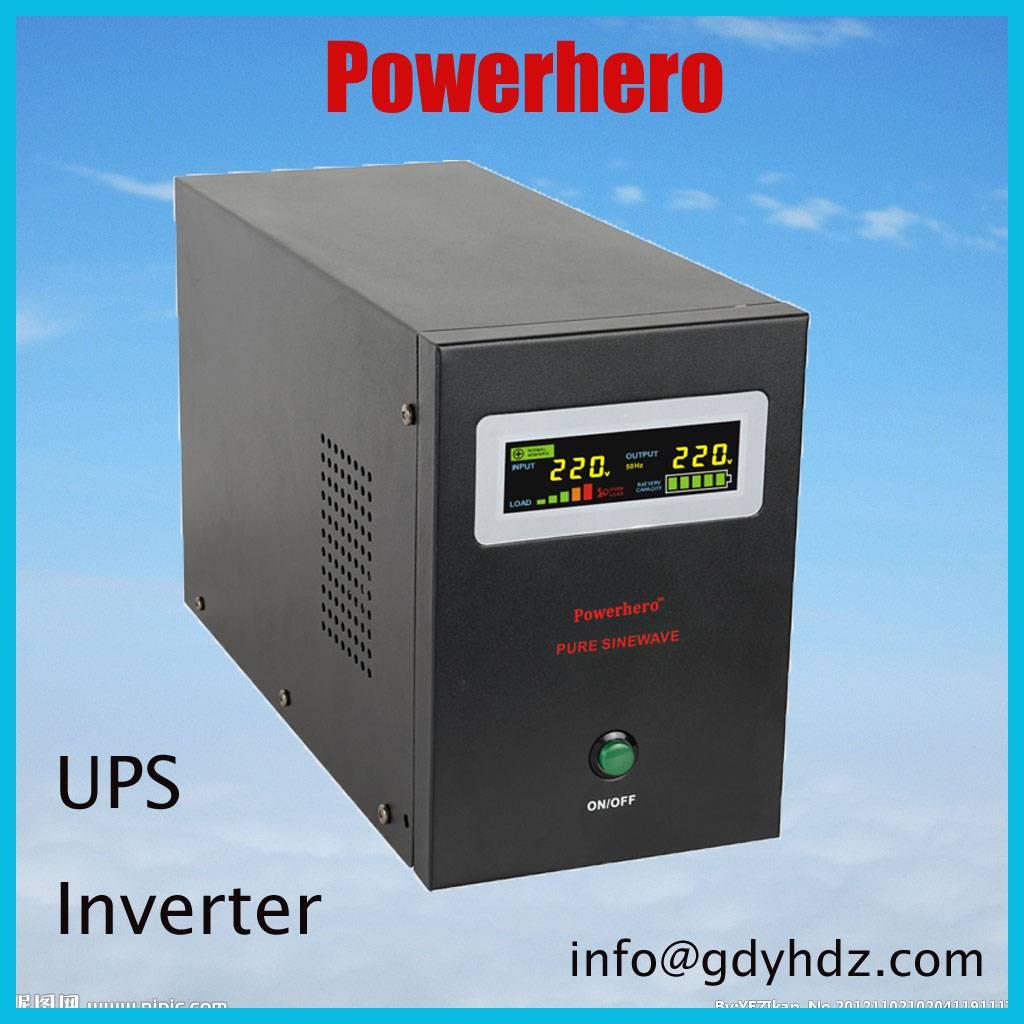 500VA 12V Pure Sine Wave Inverter with Wide AVR Range