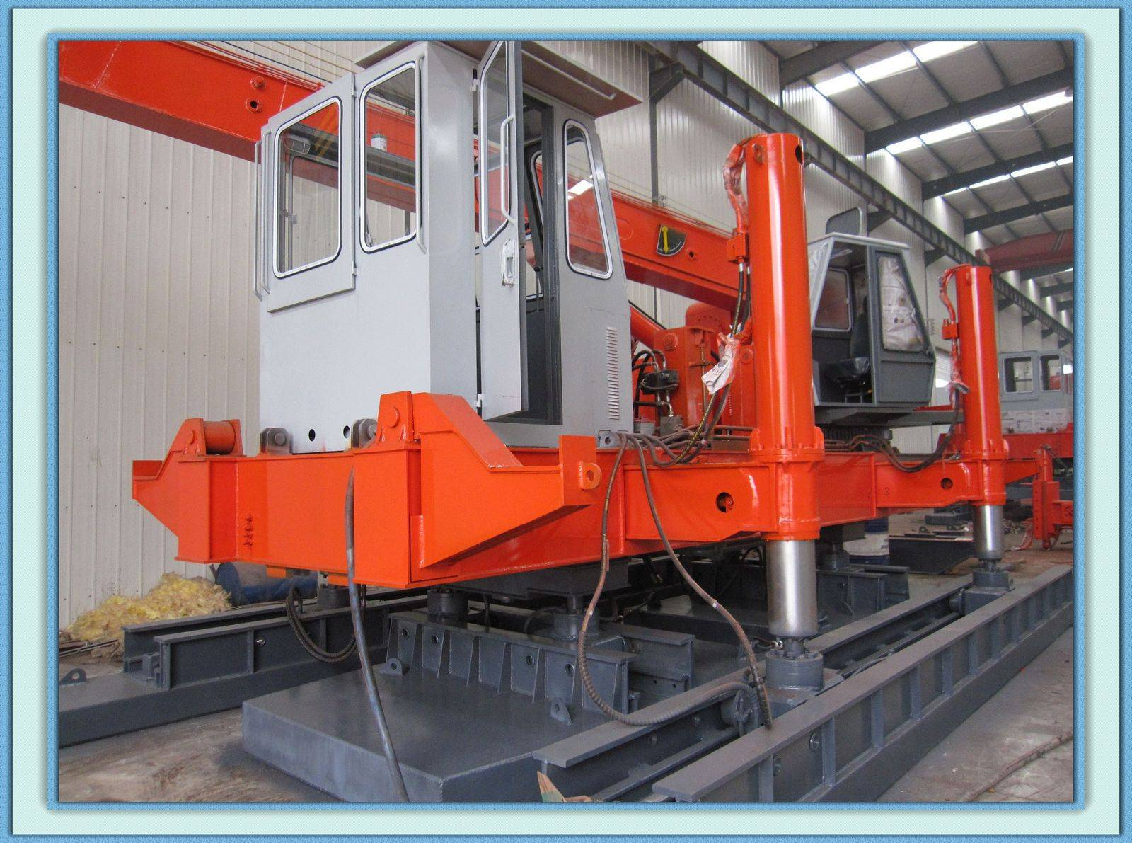 120T hydraulic static pile driver