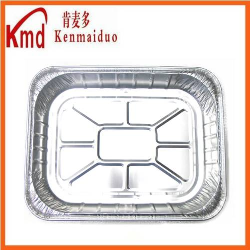 RUG458 huge size rectangle auminum foil container