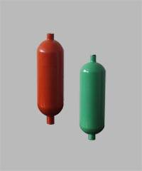Aluminium sampling gas cylinder