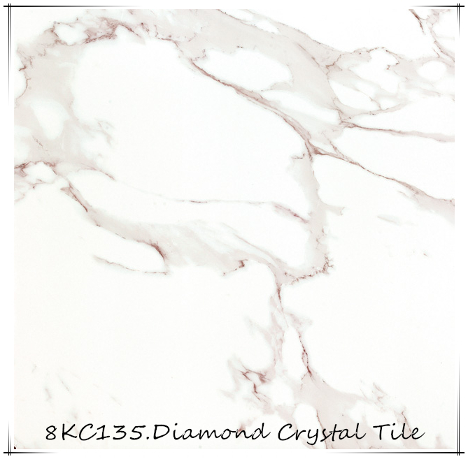 8KC135 Carrara White Marble Design Floor Tile Carrelage