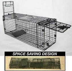 Folding Cat Cages for Trapping