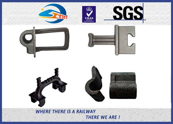 ZhongYue Railway Shoulder Casting Iron For Fastening Railroad embedded part