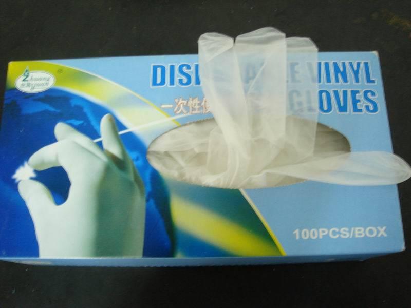 Disposable Vinyl Hand Gloves