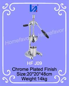 Industrial Chrome Plated Hand Citrus Juicer