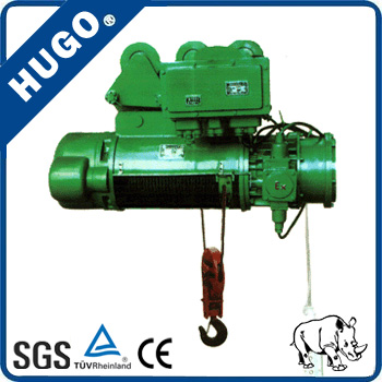 Manufacturing CD1 5ton electric wire rope pulling hoist