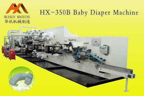 HX-350B Baby Diaper Production Line
