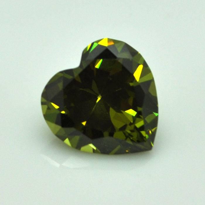 Gemstone Synthetic Cubic Zirconia CZ Diamond Factory Price of Hot Sale DIY Heart Olive Cut