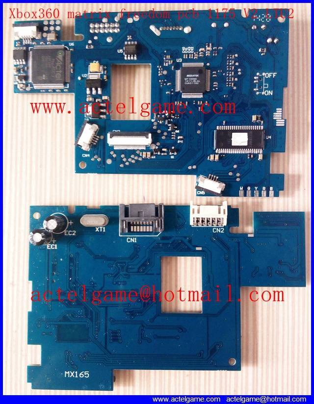 Xbox360 Matrix Freedom PCB 1175 LTU2 PCB V2 modchip