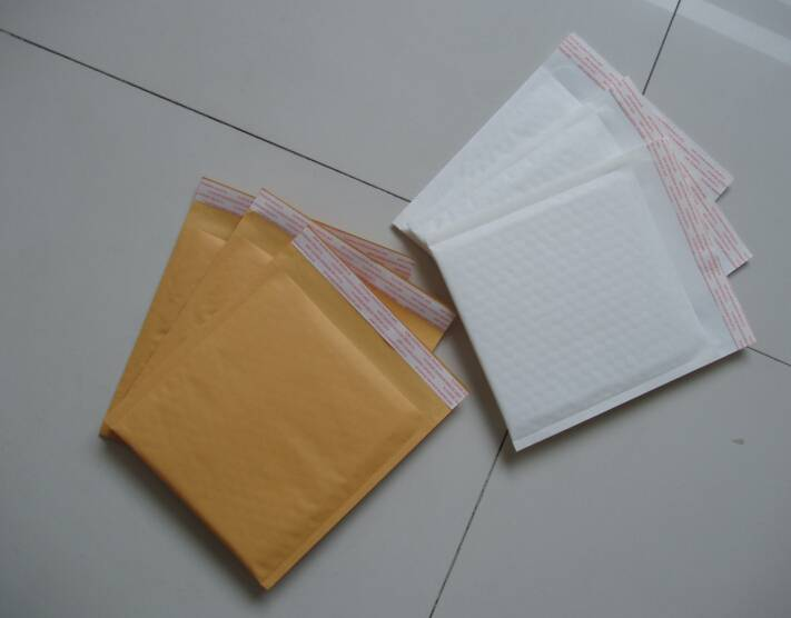 Kraft paper and PE padded mailer