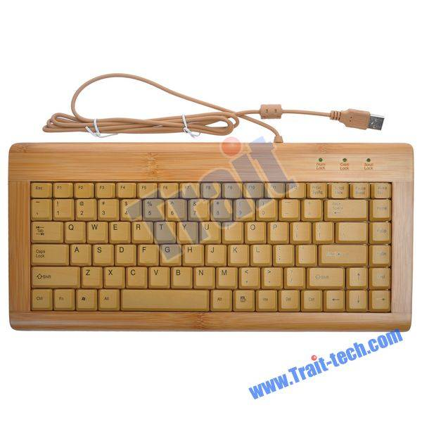 All Nature Full Bamboo Keyboard & Mouse Combo