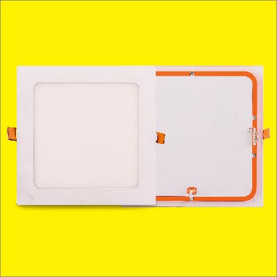 Indoor slim recessed Ra80 led panel light flat lamp round square 3W 6w 12w 18w 24w