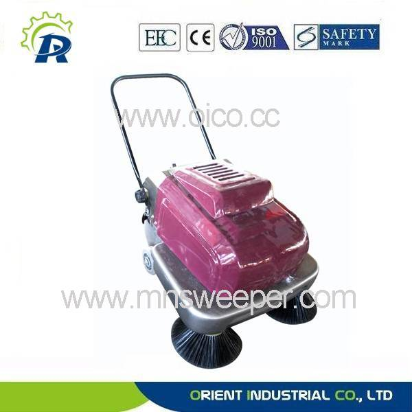 small automatic hand push sweeper