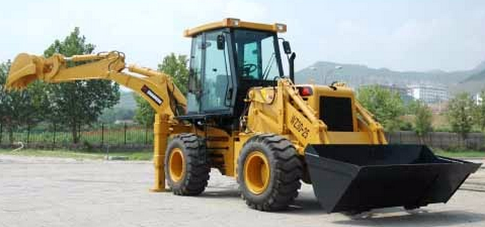 87KW articulated electric control extend- retract wheel loader