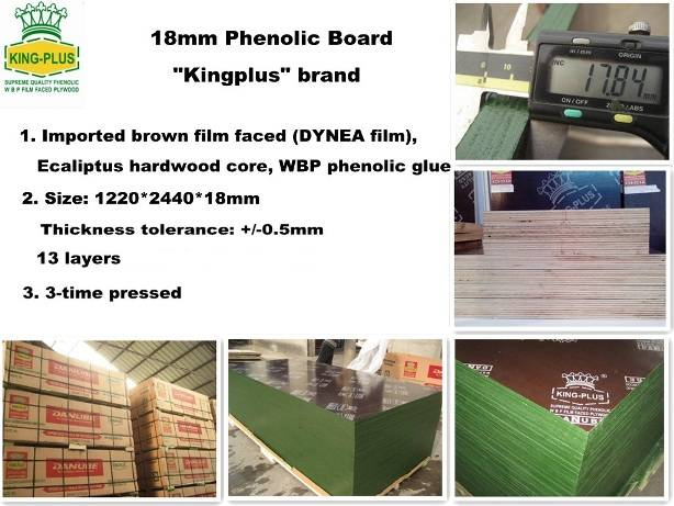 KINGPLUS FILM FACED PLYWOOD