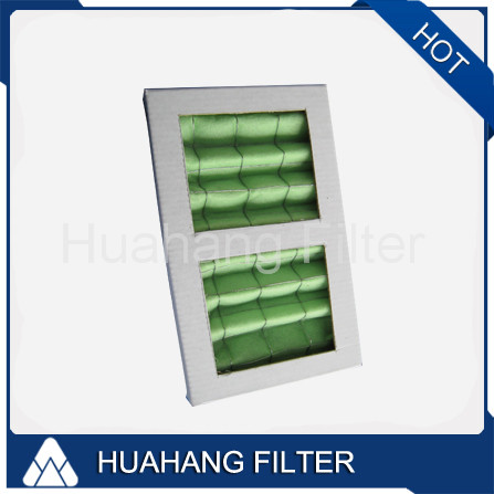 G3/G4 Pleated Panel Air Filter Cardboard For Air Cleaner
