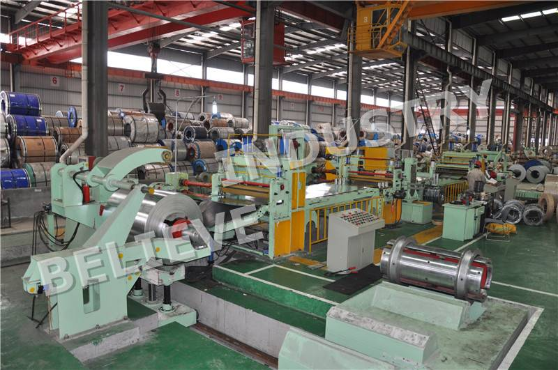 0.2-0.8mm*1250 Slitting Line