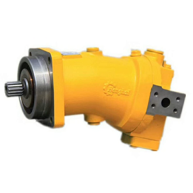 Rexroth A6V55 A6V80 A6V107 Hydraulic Piston Motor For Crane