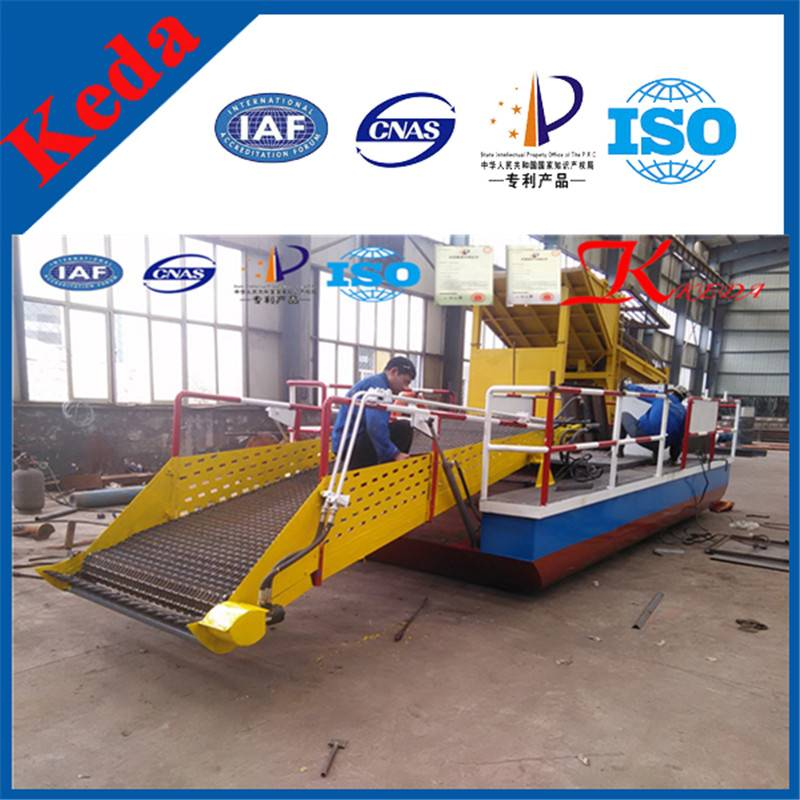 ISO9001 Certification Weed Cutting Dredger
