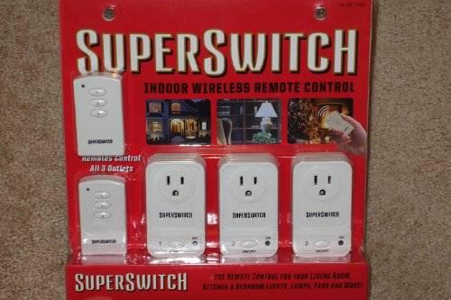 Super Switch Indoor Wireless Remote Control