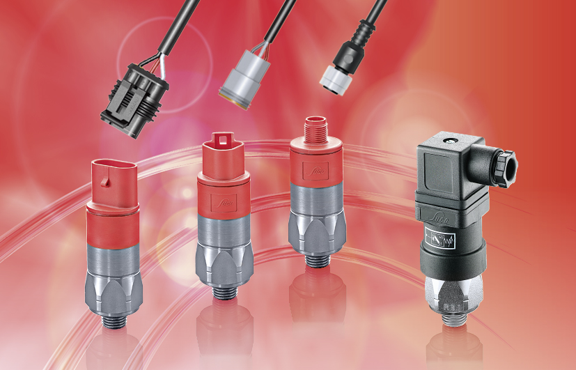 SUCO Pressure switches hex 27 with integrated connector