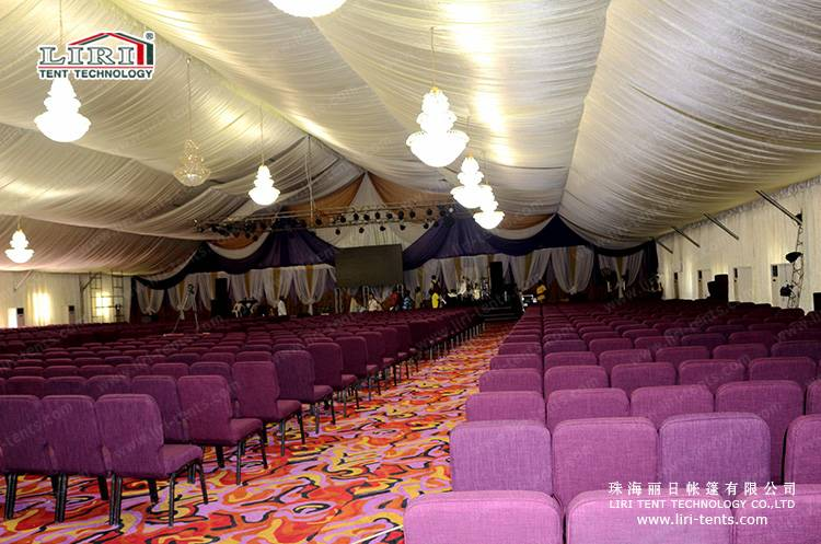 20x30m Clear Span Haji Tent for Event and Church