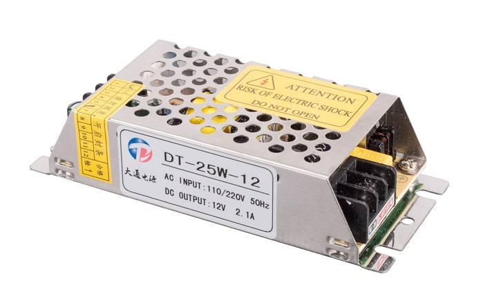 Indoor Convention Power Supply 25W 5V/12V/24V/36V/48V(DT-25S)
