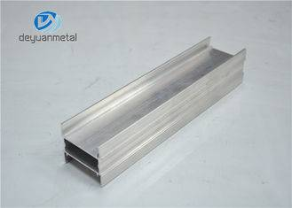 Rectangular Aluminium Construction Profiles For Office Building , 6063-T5