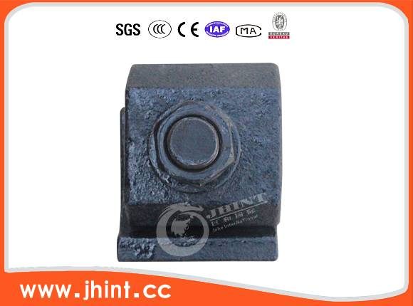 15-30kg single hole rail clip without pin