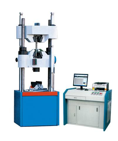 Microcomputer controlled electronic-hydraulic servo universal testing machine WAW-C series