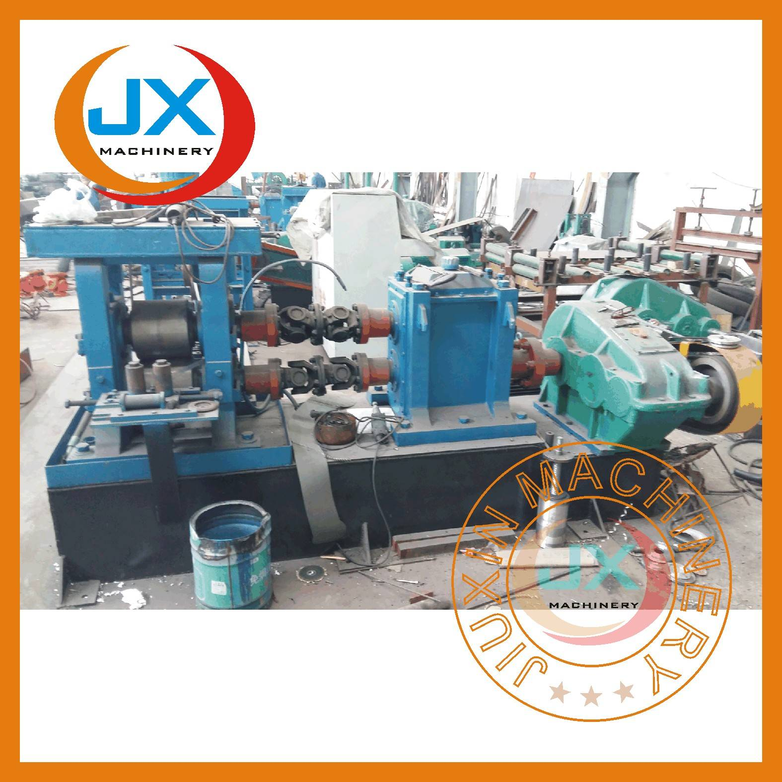 JX-250 type 20x4mm flat bar cold rolling mill line