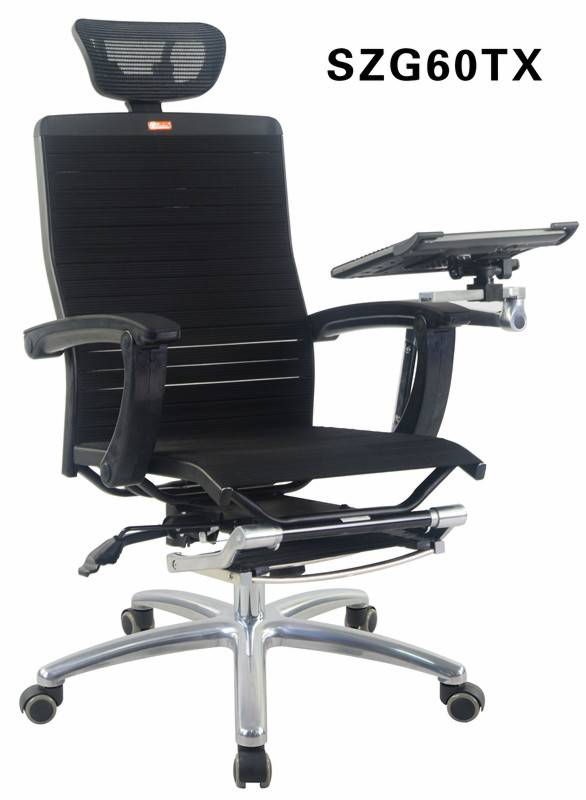 Executive High Back Swivel Arm Office Chair