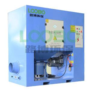 Industrial cartridge filter dust collector for welding and grinding dust extraction system