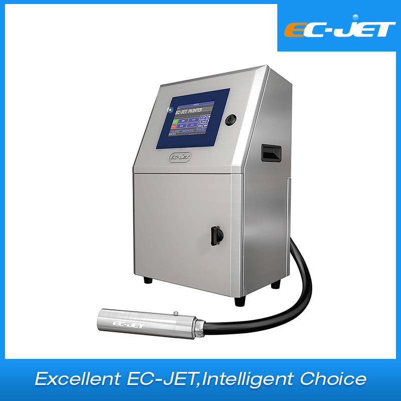 Barcode and batch code printing Continuous inkjet printer(EC-JET1000)