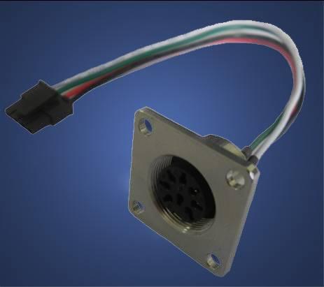 Aviation waterproof circular connector