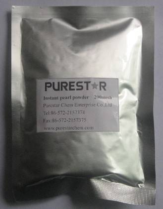 Instant pearl powder