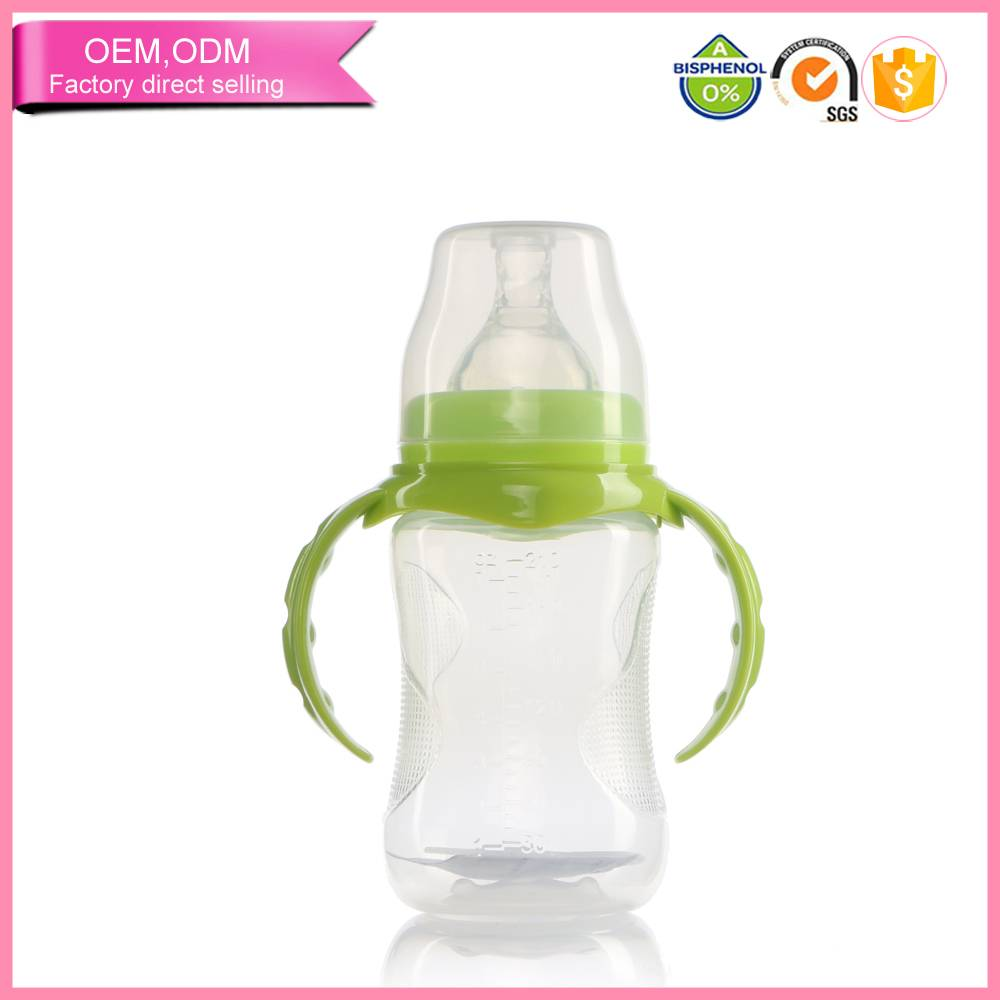 transparent Bpa free Funny baby bottles in feeding supplies
