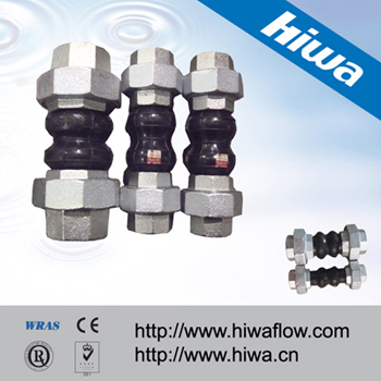 Twin Sphere Union Rubber Expansion Joint