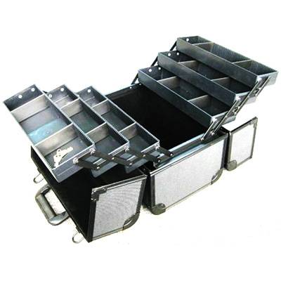 New Professional Durable Black Cosmetic Case